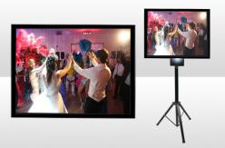 Rectangular Projection Screen